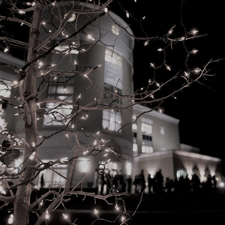 Lighting a Tradition at In front of Rice Library (Caroling), the Quad, and UC East/West