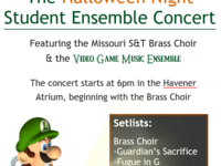 Halloween Brass Choir and VGME Concert
