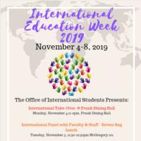International Education Week 2019