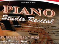 Piano Studo Recital