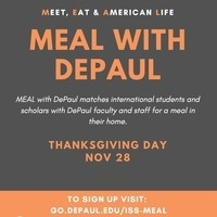 MEAL with DePaul: Thanksgiving