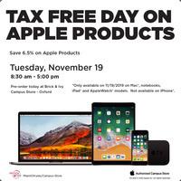 Apple Tax Free Day
