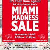 Middletown Campus Store MADNESS SALE