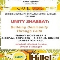 Unity Shabbat:  Building Community Through Faith