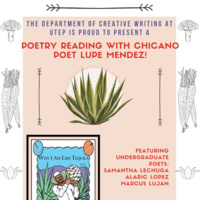 Poetry reading with chicano poet Lupe Mendez