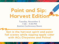 Paint and Sip: Harvest Edition