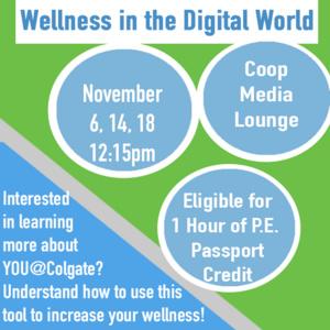 Wellness In the Digital World