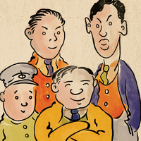 The Four Immigrants: From Manga to Musical