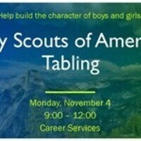 Boy Scouts of America Tabling