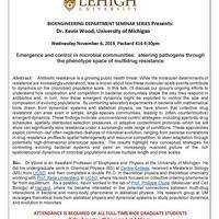 Bioengineering Seminar Series
