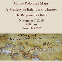 Marco Polo and Maps - Dr. Benjamin Olshin