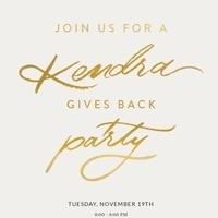 Kendra Scott % night for raiseRED