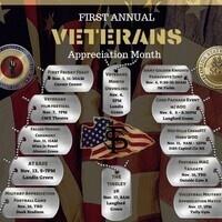 Veterans Month Unveiling