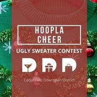 Hoopla Cheer & Ugly Sweater Contest