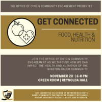 Get Connected: Food, Health & Nutrition