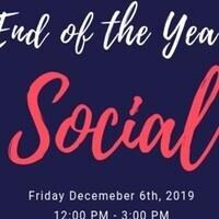 End of Semester Social