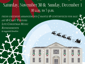 Holiday Open House at the Liriodendron Mansion