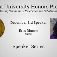 Honors Speaker Series: Author Erin Dionne