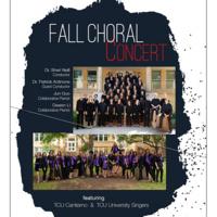 Ensemble Concert Series: TCU Cantiamo and University Singers.