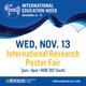 International Research Poster Fair