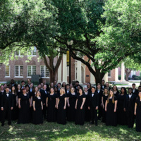 Concert Choir at the Louisiana ACDA Fall Vocal Conference