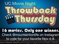 UC Movie Night: Throwback Thursday