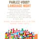 Parlez Vous Language Night