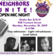 Lower Roxbury Neighbors Unite! Open Mic Night!