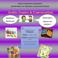 Arabic Games & Conversation