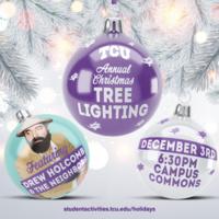 Tree lighting graphic art