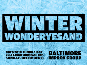 WINTER WONDERYESAND: improv comedy fundraiser show