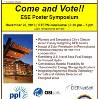Energy Systems Eng: POSTER SYMPOSIUM