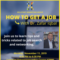 Join us for the workshop with Dr. Zafar Iqbal (Associate Professor of Marketing at DePaul University)