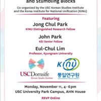 """Korea Relations: Sanctions, Summits and Stumbling Blocks"""
