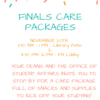 Finals Care Packages
