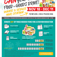 'Can' Your Citation Food Drive