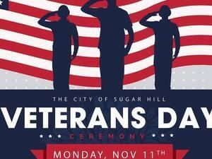 Sugar Hill Veterans Day Ceremony