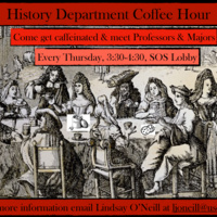 History Department Coffee Hour - Every Thursday!