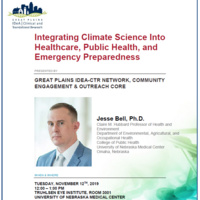 Integrating Climate Science Into Healthcare, Public Health, and Emergency Preparedness