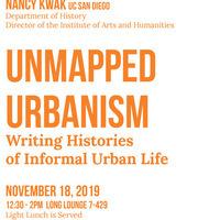Unmapped Urbanism
