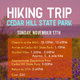 Hiking Trip: Cedar Hill State Park