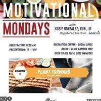 BUREC   Motivational Mondays: Plant Forward