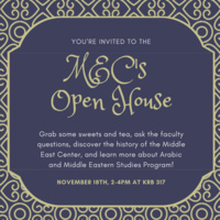 Middle East Center Open House