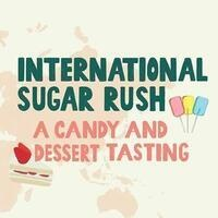 International Candy Tasting