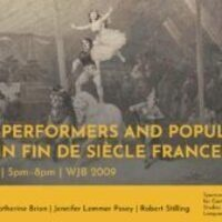 Circus Performers and Popular Media in Fin de Siècle France