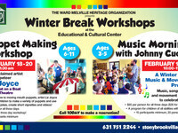 Puppet Making with Liz Joyce - Winter Workshops