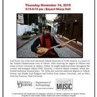 Sufi musical performance by Turkish musician Latif Bolat