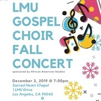 LMU Gospel Choir Fall Concert