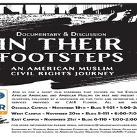 """In Their Footsteps:  An American Muslim Civil Rights Journey"""