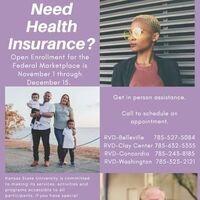 Marketplace Health Insurance Open Enrollment